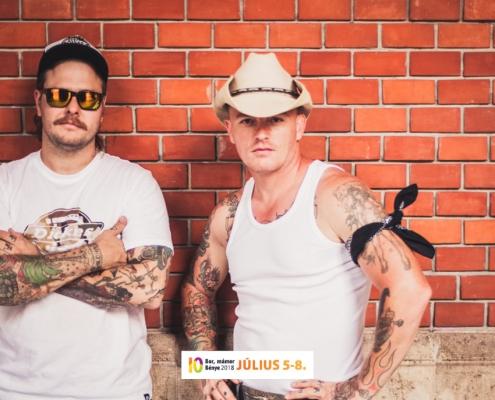 Dynamite Dudes- Bor, mámor ...Bénye 2018