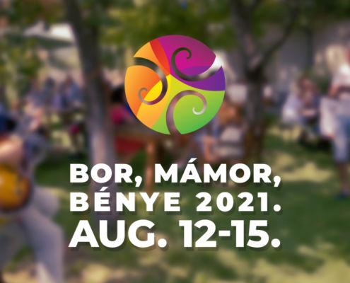 2021. Augusztus 12-15. Fesztivál az erdőbényei kertekben. Tokaji borok, zempléni ízek. Jazz, népzene, world music. Kiállítások, beszélgetések, túrák.